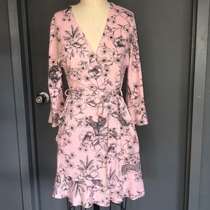 Betsey Johnson wrap dress/robe/jacket